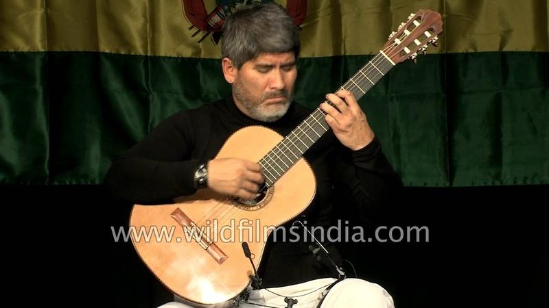 Pirai Vaca plays Bolivian music ' The Angel of Rain'