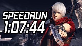 Speedrun Devil May Cry 3 in 1:07:44