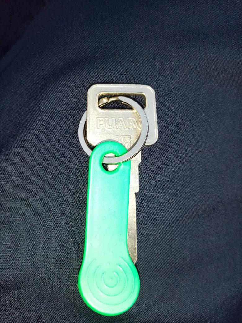 Найден ключ в папке только что