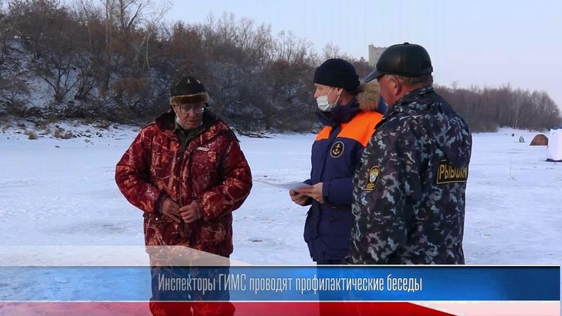 Инспекторы ГИМС проводят профилактические беседы на водоёмах