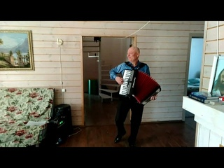 Вальс Дунайские волны. Waltz Danube Waves (Viennese Waltz) on accordion.