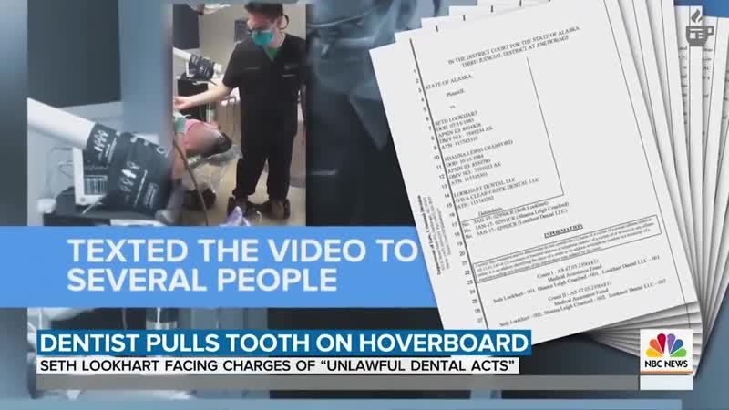 Дантист с Аляски вырвавший зуб пациента катаясь на ховерборде сядет в тюрьму на 12 лет