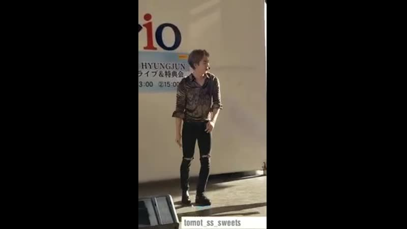 190915 KIM HYUNG JUN Catch The Wave _ release event Ario Ageo②