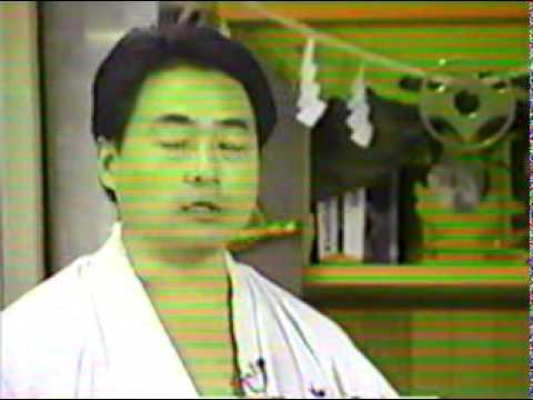 Part1 Kyokushin Karate Fighting Kumite by Kancho Matsui