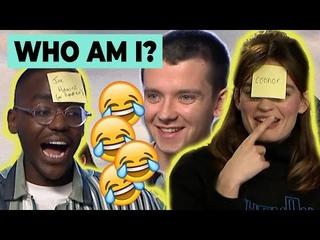 2020 | Каст сериала «Половое воспитание» играет в игру «Кто я?»