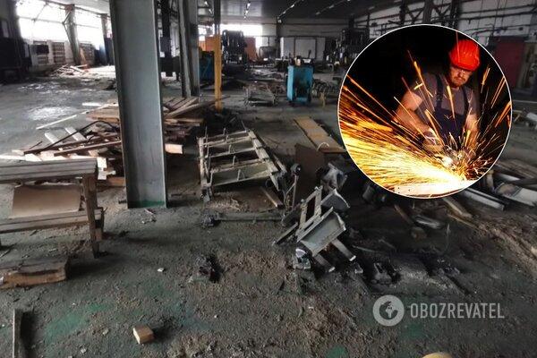 Распад, деградация и разруха: блогер представил руины завода на Донбассе (видео)