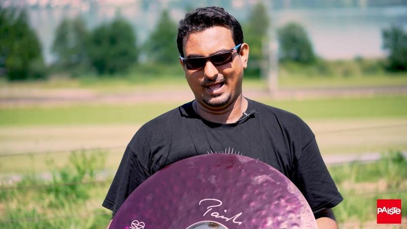 PAISTE CYMBALS Cymbal Love Hamza The Hamzoid Kazi