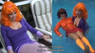 Wetlook Cosplay - Kimmy Lee and Chantelle