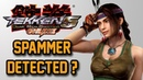 Tekken 5 DR Online - Spammer detected