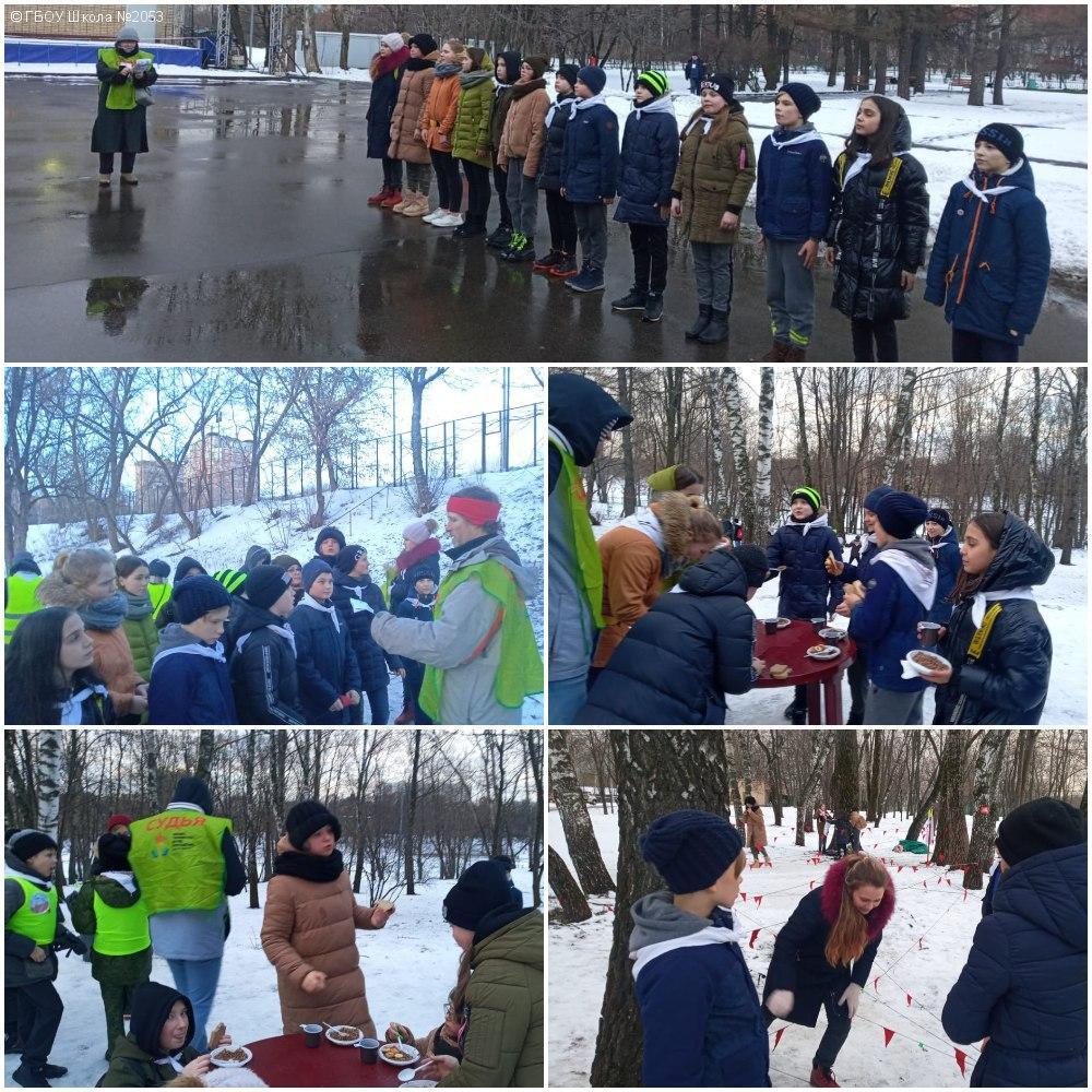 Учащиеся школы № 2053 стали победителями открытой командной историко-краеведческой игры «Линия фронта»