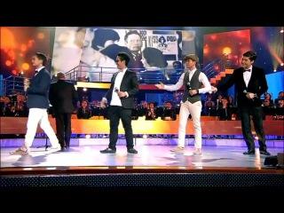 Алибек Альмадиев & Ален Самыкенов & «The Jigits» - попурри на тему итальянских хитов 60-х [2013]