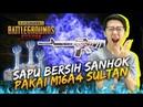 SAPU BERSIH SANHOK PAKE M16A4 M416 SULTAN! - PUBG Mobile Indonesia