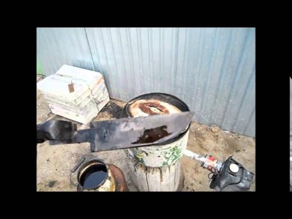 Как я закаляю сталь ШХ 15