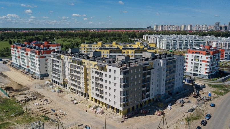 Отчет о ходе строительства ЖК «Апрель» июнь 2020, изображение №10