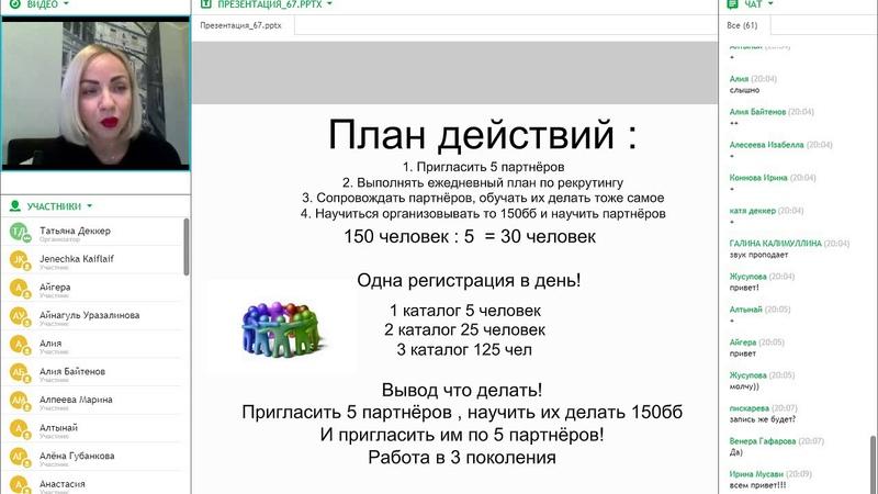 Директор за 90дней. Спикер Сапфировый директор компании Орифлейм Татьяна Деккер