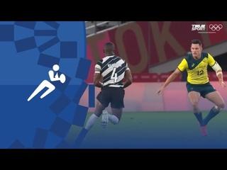 Фиджи — Австралия.Регби-7 (муж). 1/4 финала.Олимпиада-2020