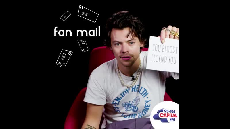 Get ready for the first ever 'Fan Mail'... with Harry Styles 💌👀
