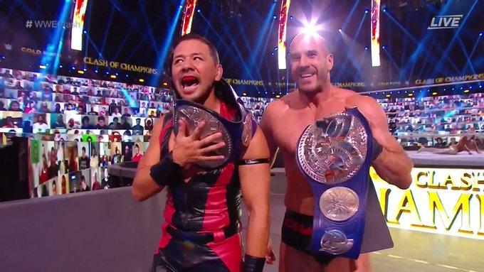 Результаты шоу WWE Clash Of Champions 2020, изображение №2