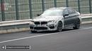 2021 BMW M5 CS SPIED TESTING AT THE NÜRBURGRING