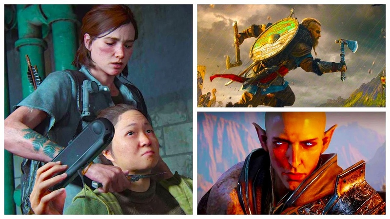 ИГРОНОВОСТИ геймплей The Last of Us 2 Assassin's Creed Valhalla Dragon Age 4 Fortnite GTA 6