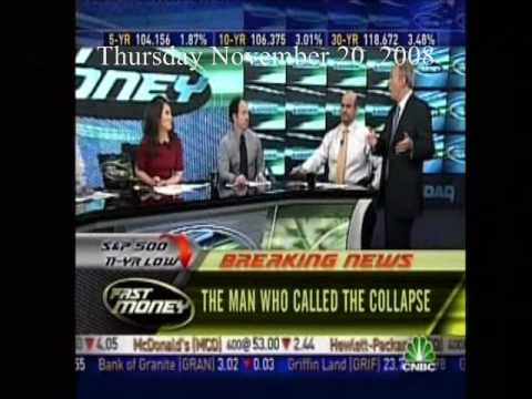 11 20 2008 Peter Schiff On Fast Money The Man Who Called The Collapse