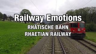 🚆 Meter-gauge Cab ride on the Vereina line (Switzerland | RhB RegioExpress Landquart - Scuol-Tarasp)