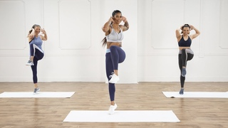 30-Minute No-Equipment Cardio and Core Workout - POPSUGAR Fitness
