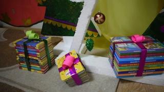 Новогодний манекен челлендж от Детской библиотеки