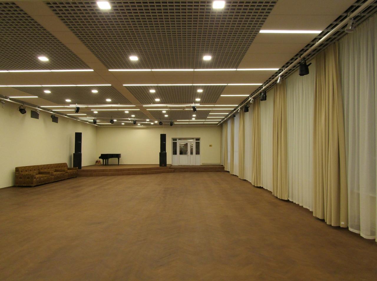 Открытие танцевального зала в ДК