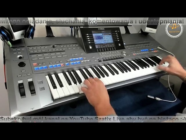 Mix Biesiada Disco Polo Zapis transmisji z Facebooka Cover by SzatixLive Yamaha Tyros 5