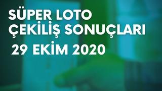 Süper Loto Sonuçları Açıklandı ~ 29 Ekim 2020