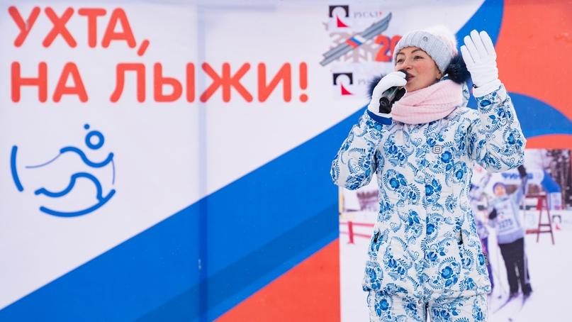 Лыжня России 2020: спортивная Ухта не боится морозов, изображение №4