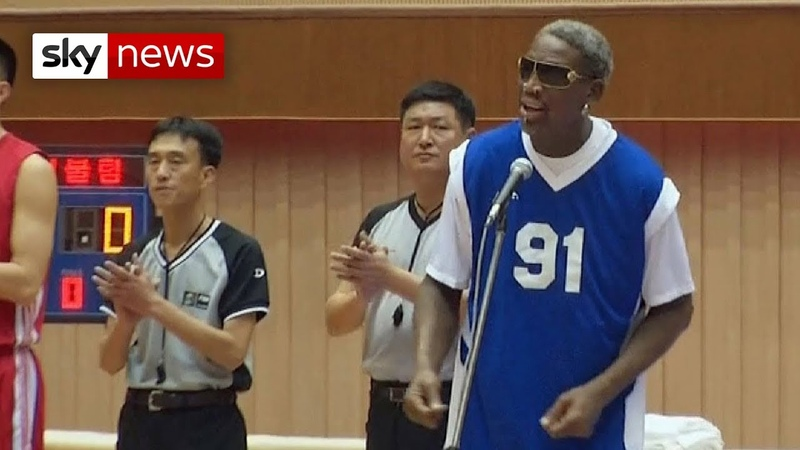 Dennis Rodman Sings Happy Birthday To BFF Kim Jong Un