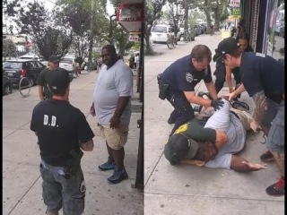 Police Brutality: Black Man 'Eric Garner' killed by Police for braking up a fight