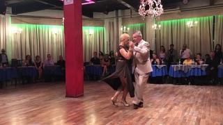 Silvia y Alfredo Alonso en PORTEÑO Y BAILARÍN.  6 de Noviembre 2019