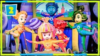 Фиксики 🚀🎅 Фикси-шоу ЧАСТЬ 2. Фиксипелки 🥁⚡️(Барабан, Часики, Батарейки) Шоу для детей | Песенки