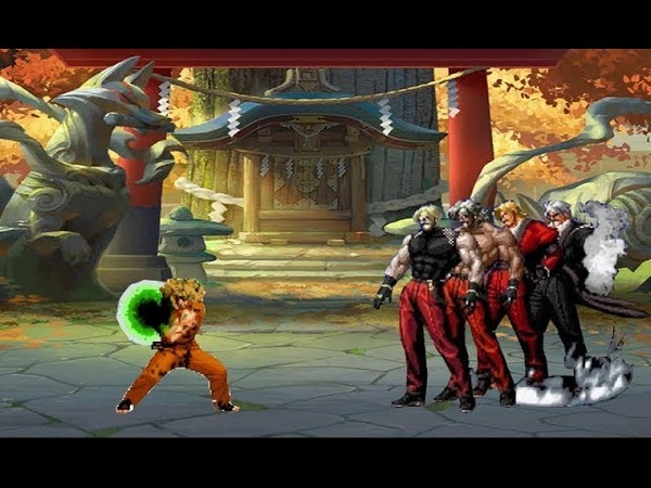 MUGEN KOF Bebum Ryo Vs Rugal Team