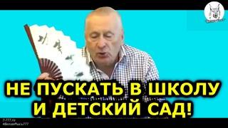 🤦♂️ Жириновский: Не пускать в школу, детский сад, на работу!