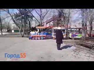 Демонический паровозик Уриэля Вентриса из Омска