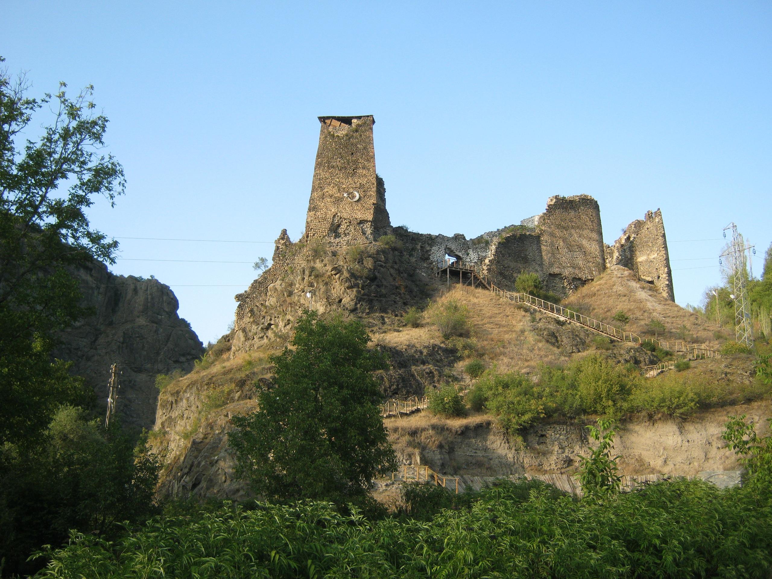 Крепость около Шавшат в Артвин