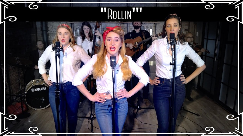 "Rollin'"" Limp Bizkit Country Western Cover by Robyn Adele Anderson ft Sarah Krauss Julianne Daly"