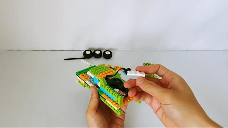 Monster Truck Lego wedo 2 0 Instructions