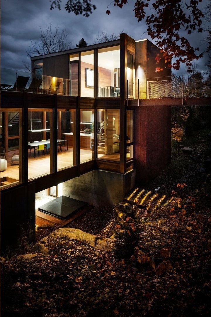 Residence Dans l'Escarpement / YH2 Architecture
