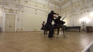 Ilya Gringolts and Peter Laul play Korngold Violin Sonata op. 6