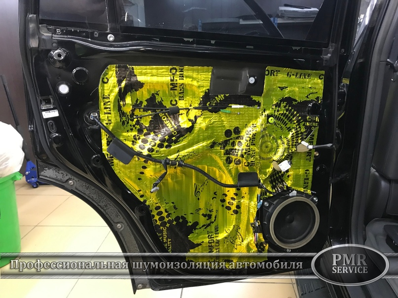 Комплексная шумоизоляция Toyota Land Cruiser 120, изображение №6
