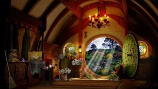 ASMR soundscape - Cozy Hobbit Morning ambience (spring birds, gardening, tea, digging)