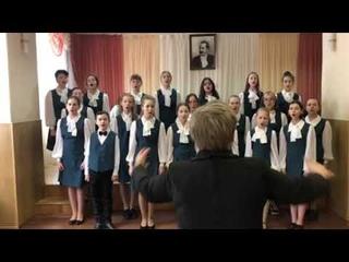 "Spiritual music ""When the Saints go marching in"" исполняет хор Кантилена ДШИ им НН Алмазова"