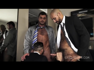 Bareback: getting loaded at lunch time (antonio biaggi, dominic sol, mike dozer)