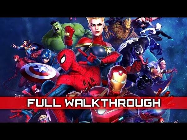 MARVEL ULTIMATE ALLIANCE 3 – Full Gameplay Walkthrough No Commentary 【Full Game】