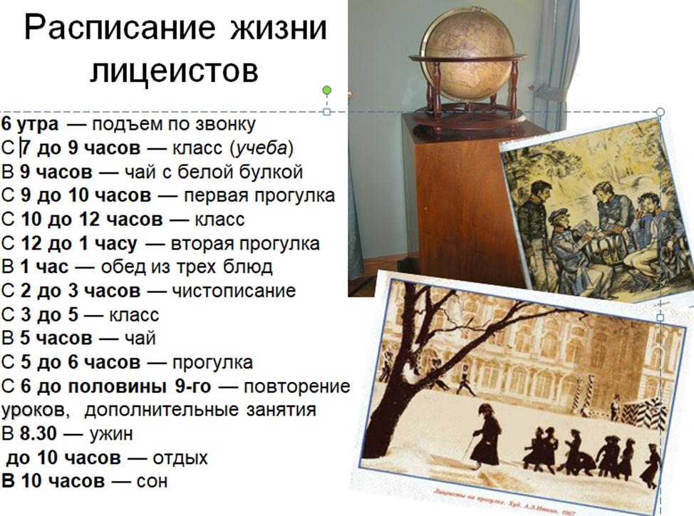 путешествие – в Пушкинский Лицей, «Лицейскую республику».16.11.20